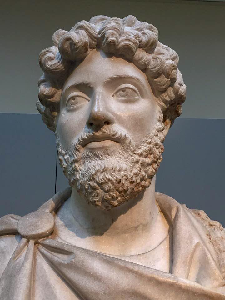 Bust of Marcus Aurelius - British Museum