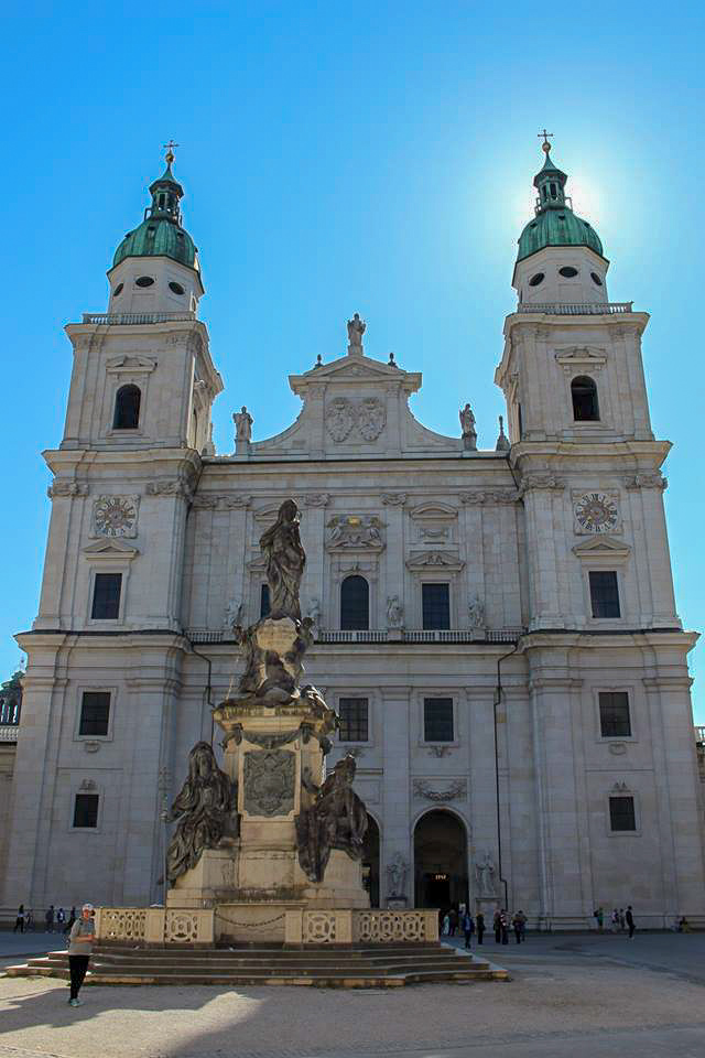 Salzburg itinerary - Dom zu Salzburg Cathedral