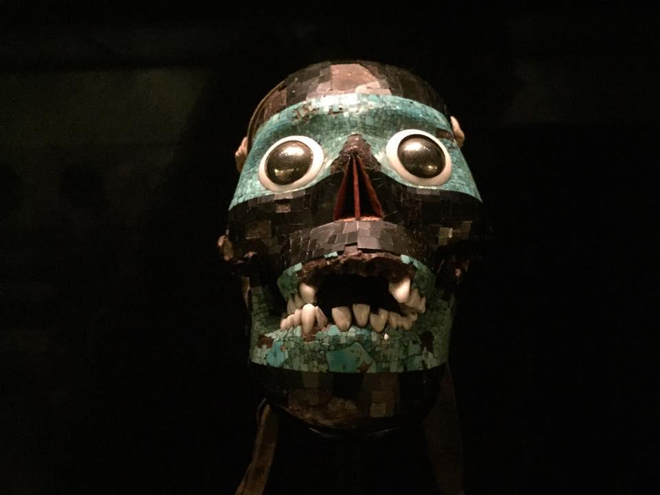 Aztec skull statue - British Museum