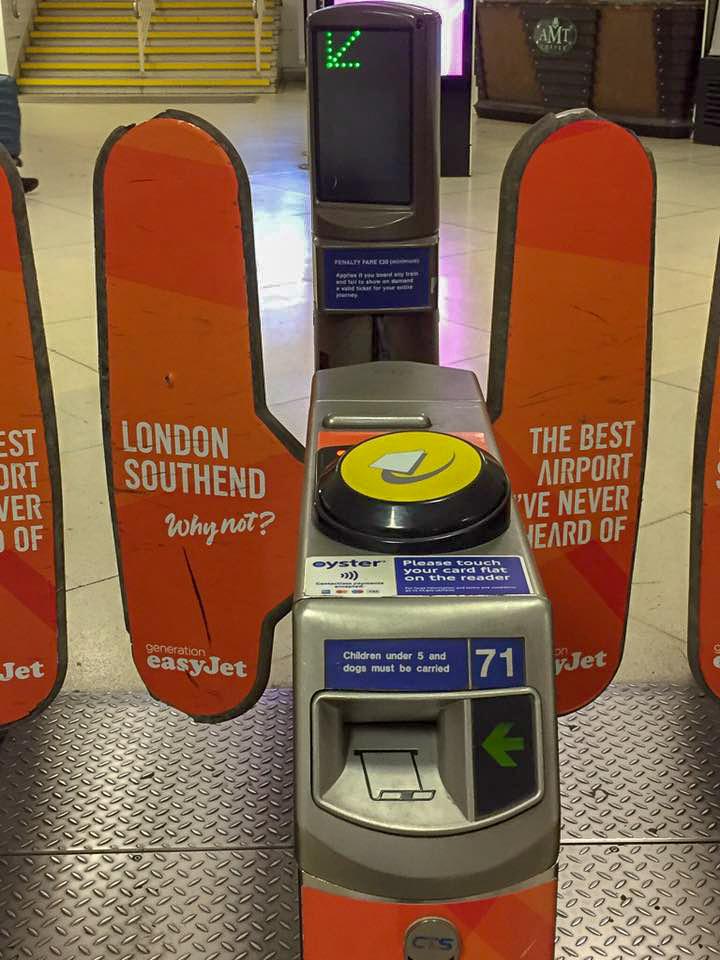 London ticket barriers