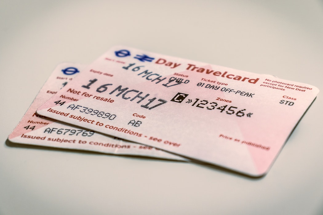 Tickets for the London Underground