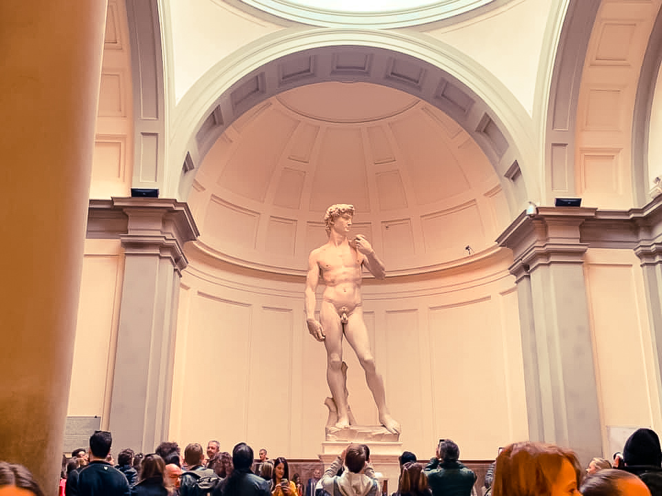 Statue of Michelangelo's David - 2 days in Florence itinerary