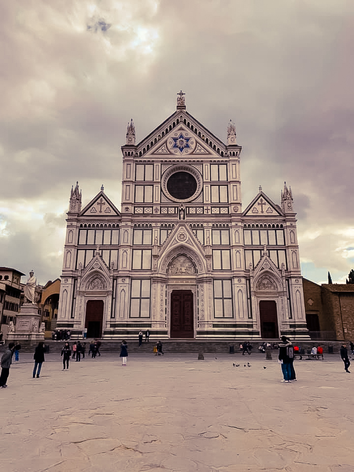 Santa Croce church in Florence - 2 days in Florence itinerary