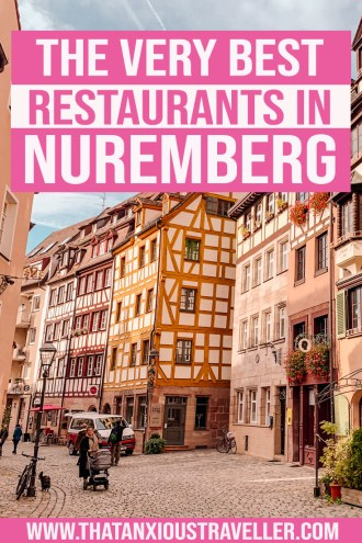 Looking for the best places to eat in Nuremberg? Get all the info with this guide to the best restaurants in Nuremberg! From sausages to schnitzel, get all the info on the best German food in the city. Whether you're visiting in winter for the Christmas markets, or just taking a photography trip, make the most of your Germany travel and get the best food in Nuremberg! #Nuremberg #food #restaurants #germany #hotels
