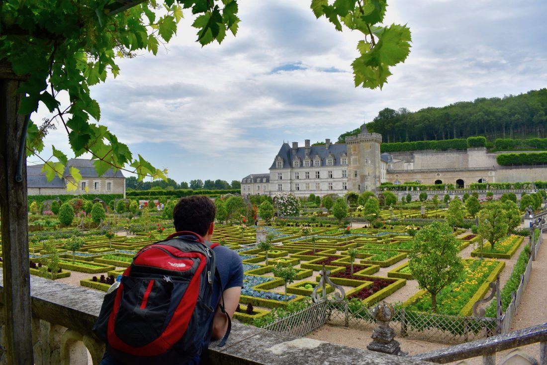 Travel blogger Matt Kepnes looks at gardens and a French castle