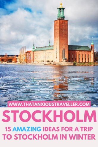 Looking for things to do in Stockholm in winter? Read this guide and never worry about the cold again! Learn the best ways to spend winter in Stockholm, with fun activities, a packing list full of outfits, fashion, and street style to beat the weather, and photography spots you'll love! Discover Christmas markets in the snow, and make the most of your Sweden travel. Get info on how to survive Stockholm in winter, and how to love Sweden winter months! #Stockholm #winter #Sweden #Europe