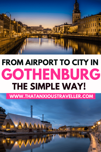 Getting from Gothenburg Airport to city center is easy... if you know how! Discover the super-simple way to get to Gothenburg city centre with this guide! Discover the Gothenburg airport to city taxi cost, learn about options from Landvetter such as Flixbus, and read why Flygbussarna is the easiest way from Gothenburg Airport to city centre. Also includes insider tips on how to buy Flygbussarna tickets, and great Gothenburg hotels near Berzeliigatan! #gothenburg #goteborg #sweden #airport