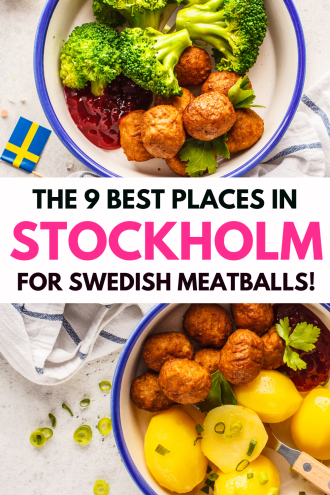 Looking for the best Swedish meatballs in Stockholm, Sweden? Get the 9 best places to eat meatballs in Stockholm! Featuring Meatballs For The People, Tradition, and Bakfickan, as well as where to get the best meatballs in Stockholm Old Town, you'll make the most of your Sweden travel. Watch a clip of Travel Man trying out the best Stockholm restaurant for meatballs, and discover which restaurant truly has the best kottbullar in Stockholm! #stockholm #meatballs #swedish #SwedishMeatballs #food