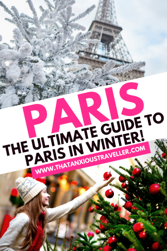 Looking for the ultimate guide to Paris in winter? You've found it! Covering everything from the best things to do in Paris in winter, to packing lists with the finest Parisian chic outfits so you'll know exactly what to wear whilst keeping warm, this gives you everything you need for a fantastic trip in December or January. Have a perfect Paris Christmas or New Year, and discover the best photography spots for capturing memories! #Paris #ParisInWinter #ParisTravel #WinterTravel