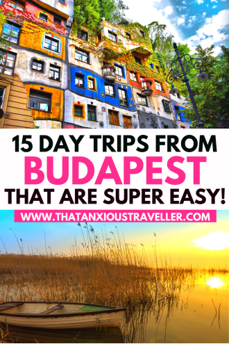 Want to discover the very best towns near Budapest? Get all the info your need for an epic day out with this guide to day trips from Budapest! Explore Hungary, sip wine in Eger, relax by Lake Balaton, or go shopping in arty Szentendre. Or visit Austria, Slovakia, Croatia and Romania with trips to Vienna, Bratislava and Zagreb! See the best of central Europe with Budapest day trips! #Budapest #BudapestTravel #Hungary #HungaryTravel