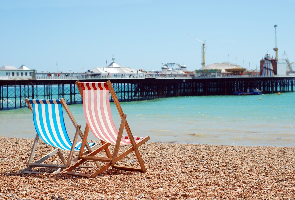 Day trips from London by train - Brighton beach