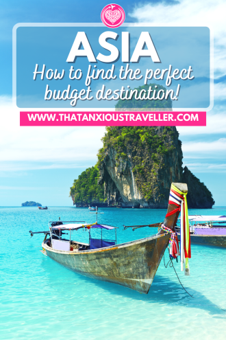Searching for cheap places to travel in Asia? Get 35 budget travel destinations with this guide to traveling on a budget in Asia! With beautiful, inexpensive locations in Southeast Asia and beyond, this is the ultimate guide to cheap Asia travel. Learn your daily budget, tips on things to do and see, and get awesome accommodation recommendations! Get inspiration for cheap travel destinations in Asia, and make the most of your travel! #Asia #BudgetAsia #BudgetTravel ##BudgetTravelDestinations