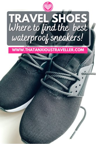 Looking for the very best waterproof shoes for travel? Discover why you really should get a pair of Loom's sneakers! Perfect for men and women's travel, these light but high-quality sneakers will be the perfect way to keep your feet comfy and dry - plus they're vegan and eco-friendly. Great to use as waterproof hiking shoes and waterproof walking shoes, they're just what you need! #walkingshoes #waterproofshoes #travelshoes #hikingshoes