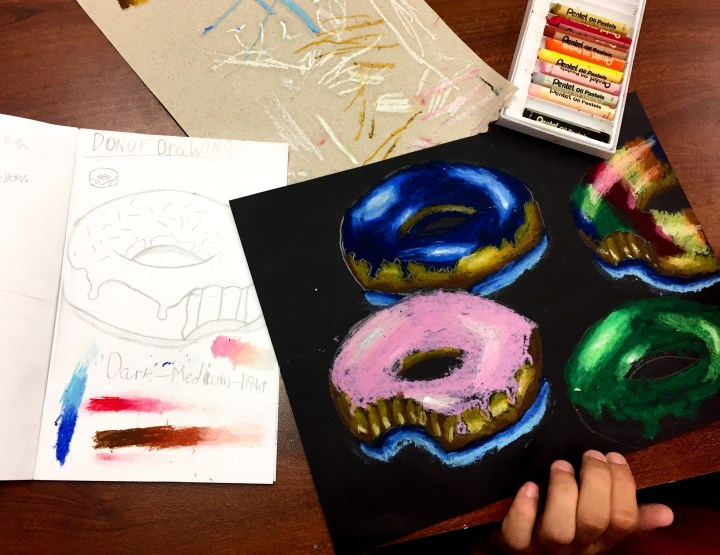 Donut Artwork: Student Work