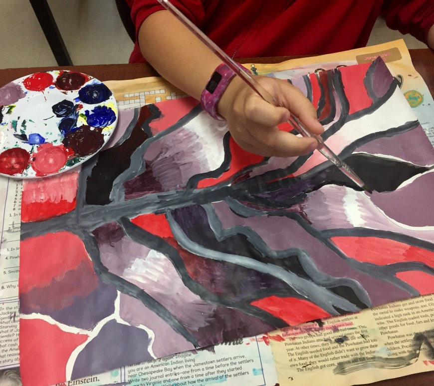 Tree of Life Acrylic Painting Lesson Plan