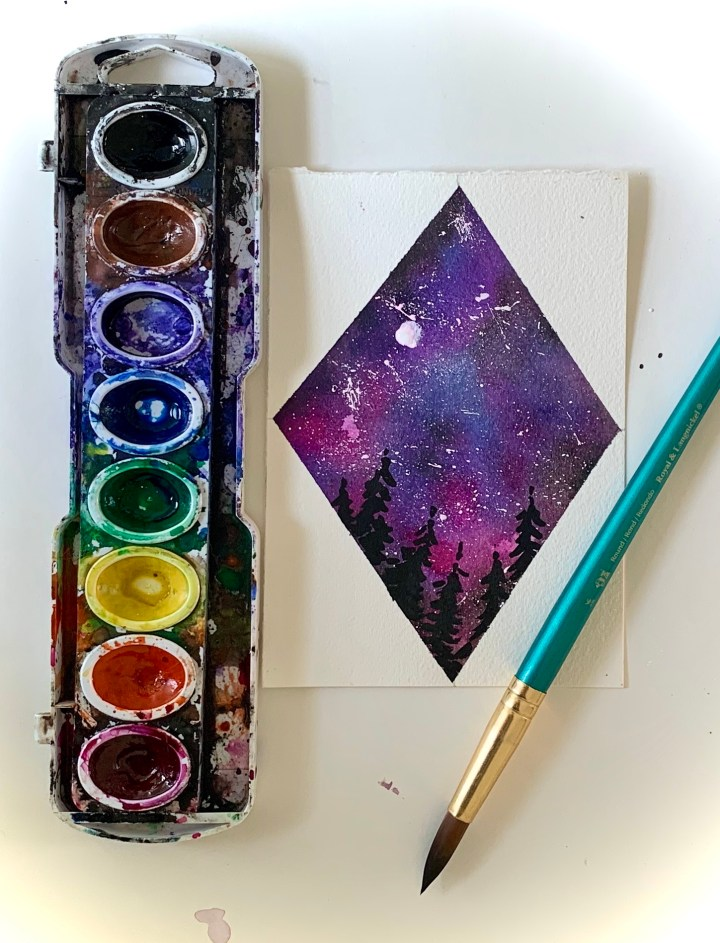 watercolor-galaxy-landscape-easy-tutorial-for-beginners