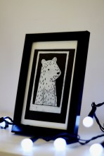 Framed Boy Bear