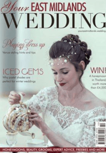 Your East Midlands Wedding Magazine front cover