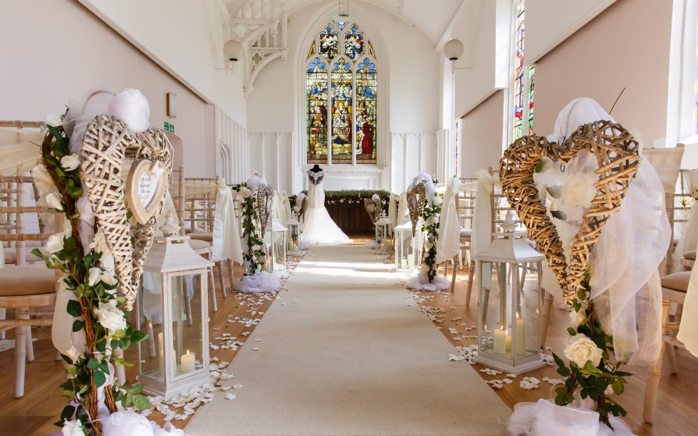 wedding venue inspiration - country house wedding venues - donington hall - wedding chapel