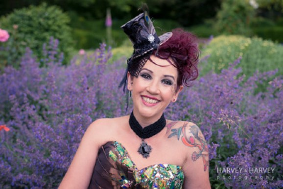 wedding hair accessories - steampunk inspiration