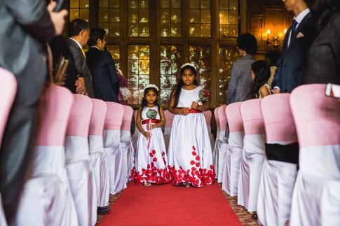 Flower girls - D&H wedding - real wedding inspiration