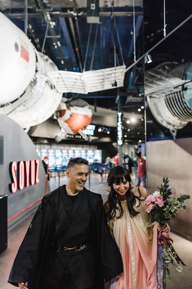 Unique, Unusual and alternative wedding venues - national space centre