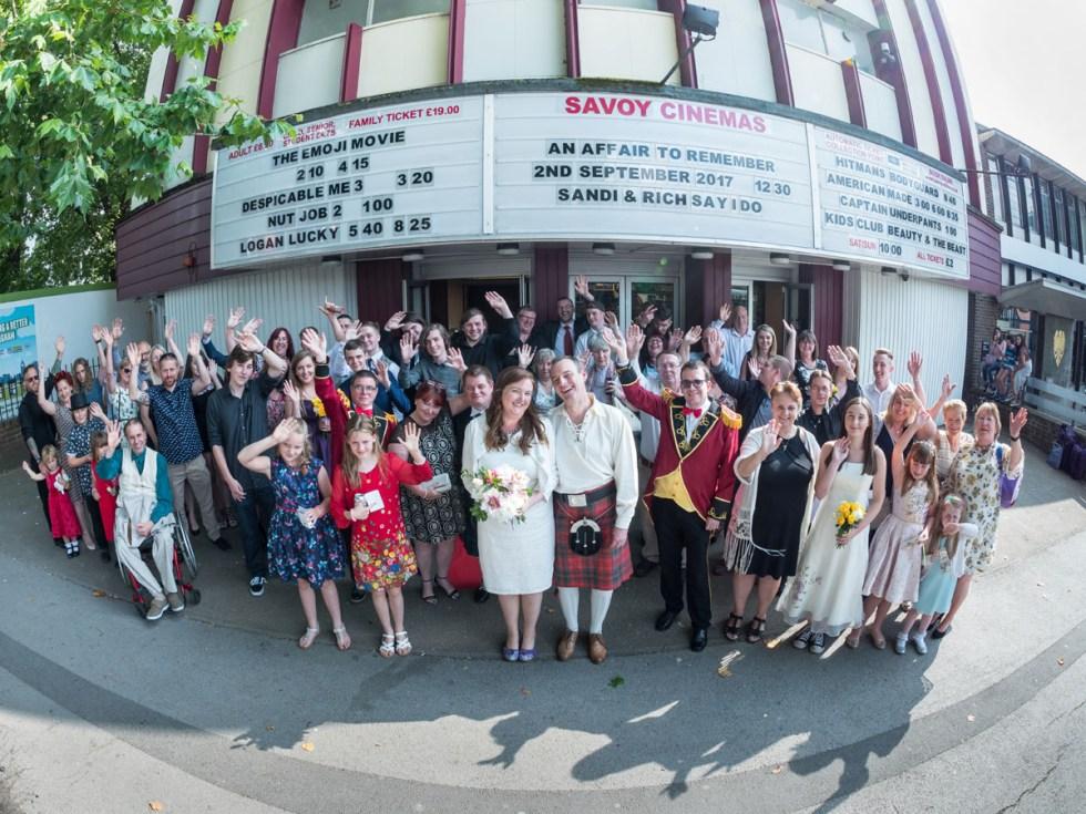 the savoy cinema - alternative wedding venue nottingham
