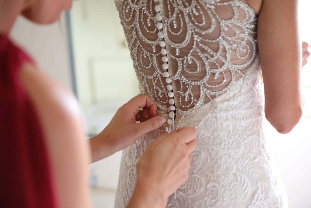 real wedding inspiration - the brides dress