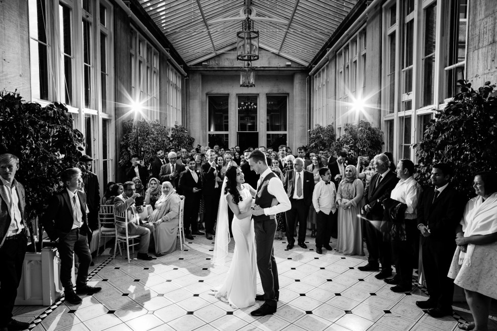 that black & white cat - Aaron Storry Photography - Haneen and Toms wedding -altenative wedding planner - nottingham wedding planner - derby wedding planning 2
