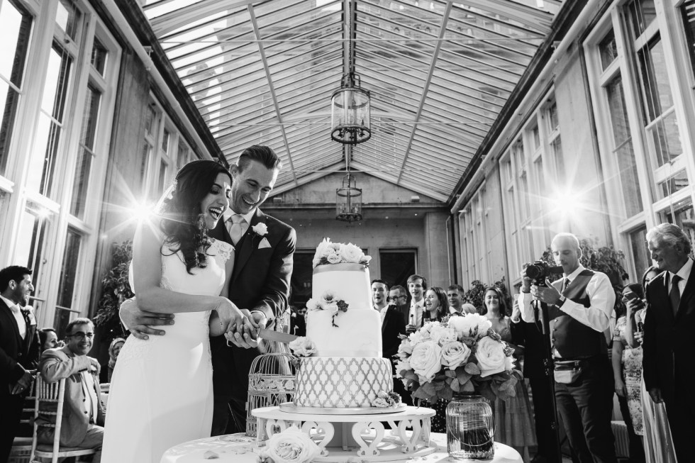 that black & white cat - Aaron Storry Photography - Haneen and Toms wedding -altenative wedding planner - nottingham wedding planner - derby wedding planning 4