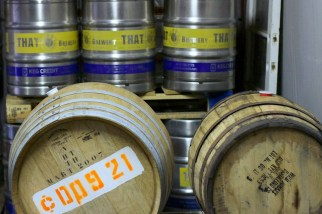 Barrels and Kegs of THAT Beer