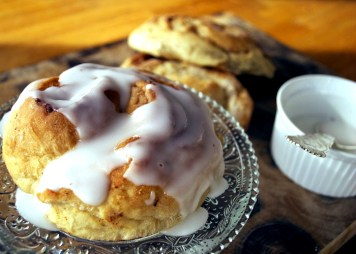 Simple cinnamonrolls made skinny