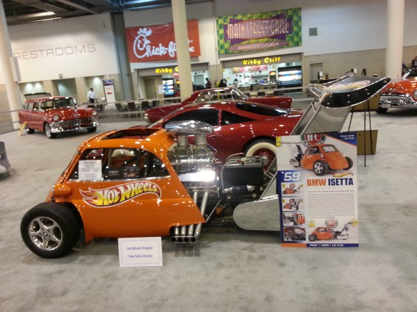 2015 Houston Auto Show - Art Cars And Classics Car Lady