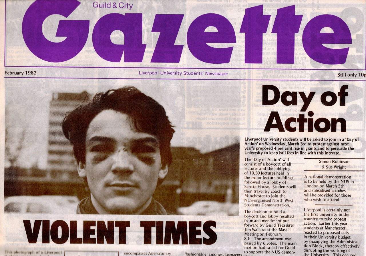 Toxteth riot violence