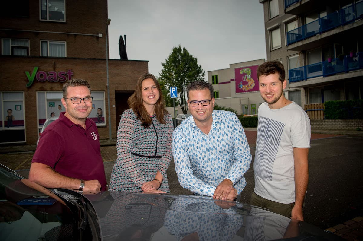 The Yoast Board: Michiel, Marieke, Joost and Omar