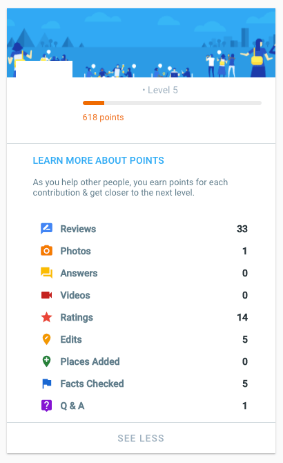 google guides profile example