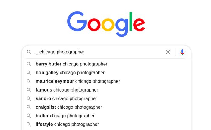Google Autocomplete predictions 9