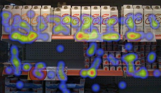 price products on shelves | 7 Marketing Lessons from Eye-Tracking Studies