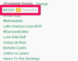twitter trends example