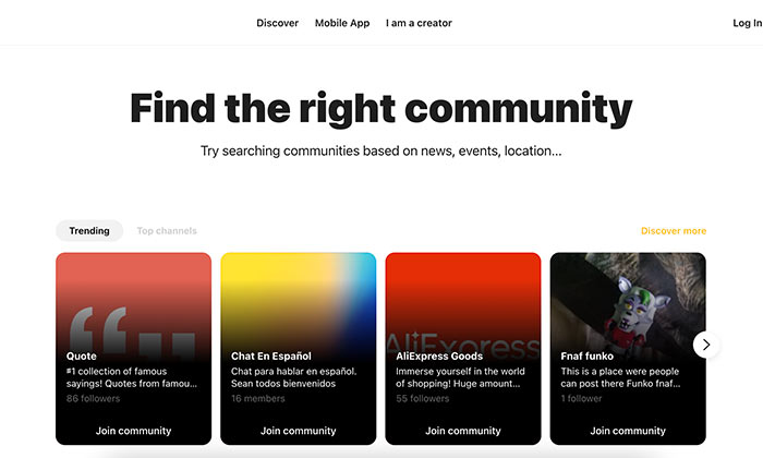 Niche Communities - Capture, an app that brings niche communities together