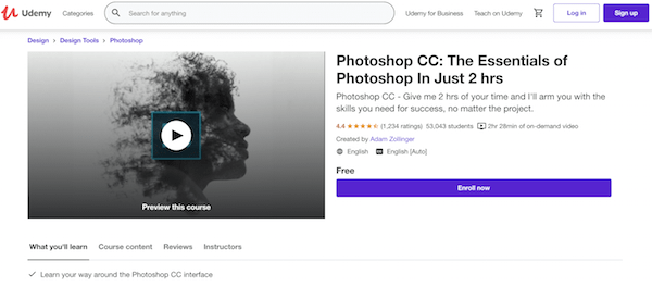 Online Photoshop Classes Online - Udemy