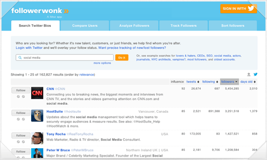 follower wonk twitter tools for business