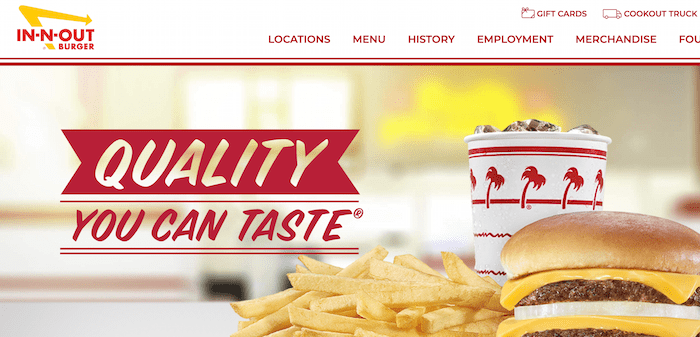 Best Business Slogan Examples - In n Out
