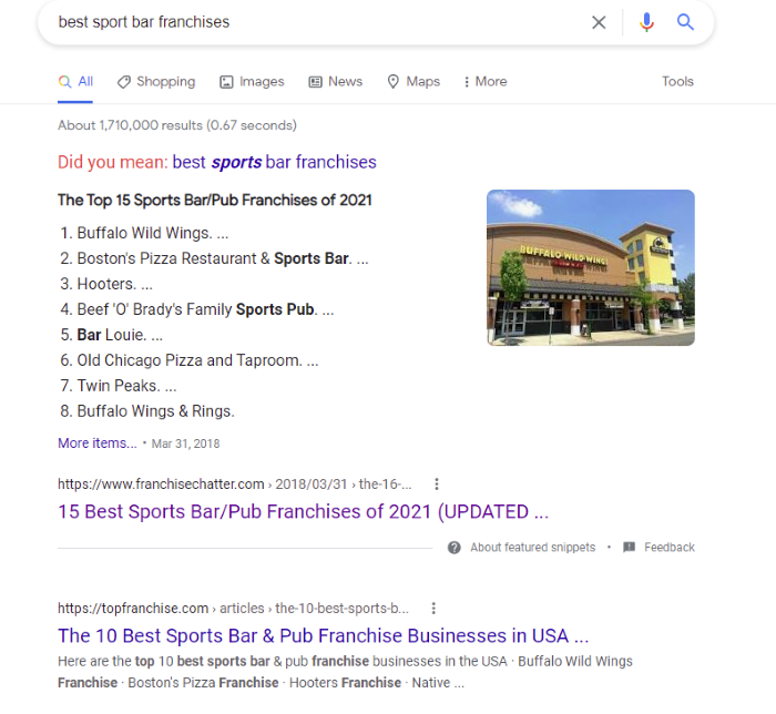 How to Start a Franchise Business - Start looking for franchise opportunities