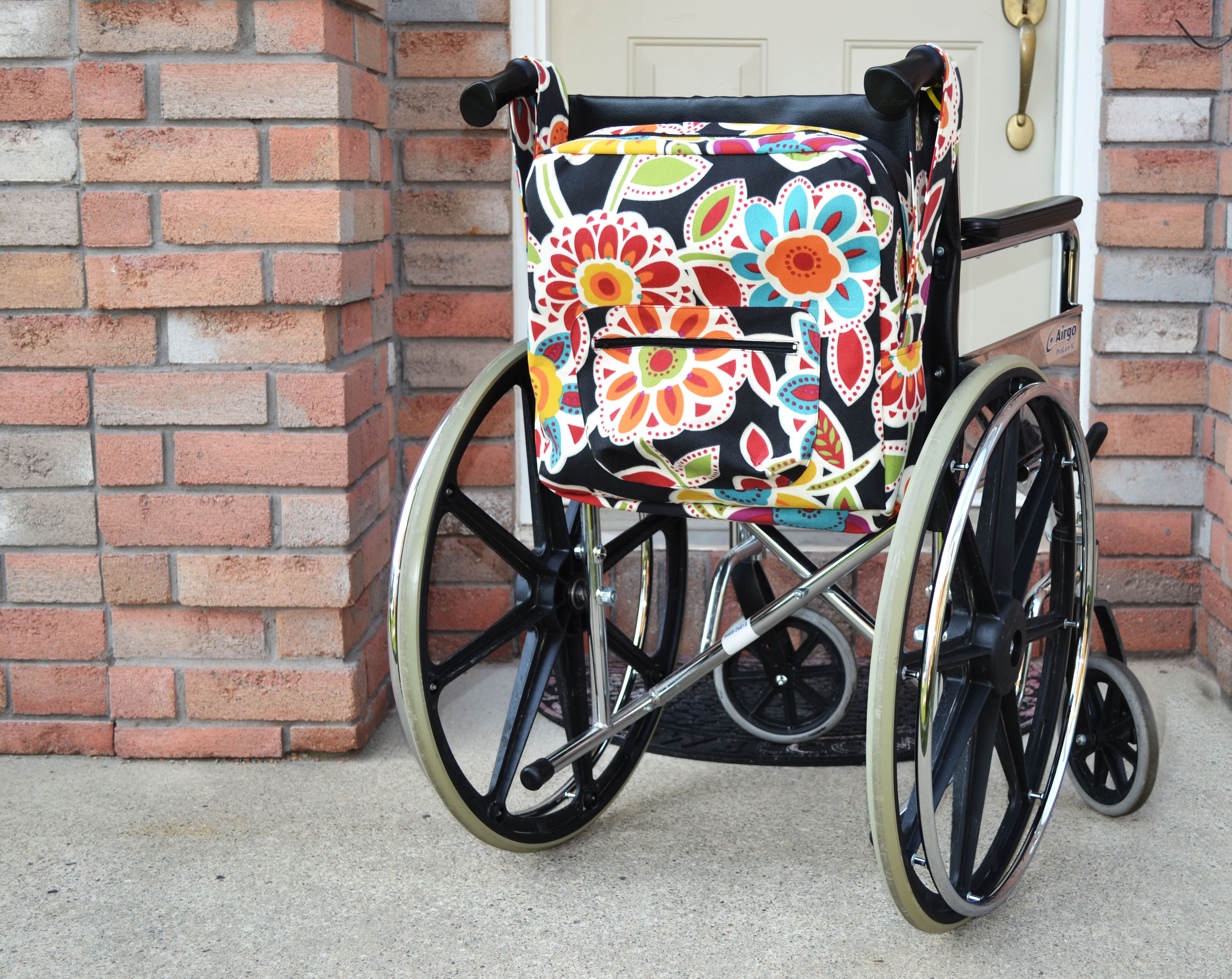 chair bags for school pattern recover leather wonderful wheelchair thatcrazystitch