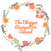 Blogger recognition Award 🥇