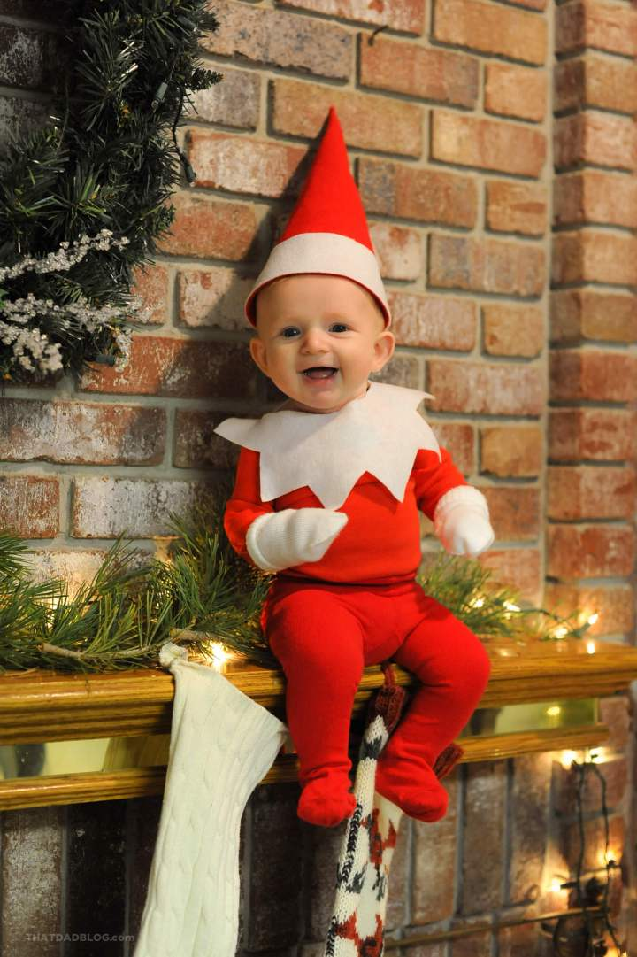 14b3705a94d1 Our Real Life Elf On The Shelf - That Dad Blog