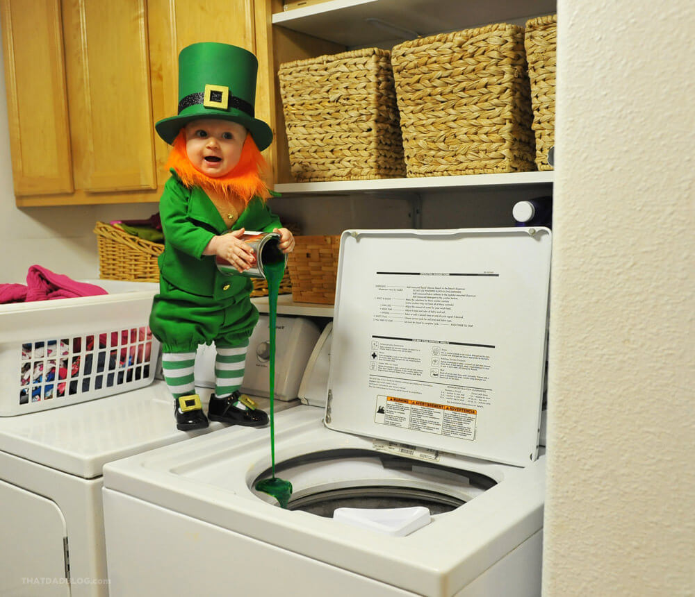 Real life leprechaun - that dad blog