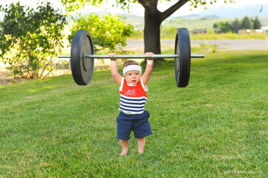 Olympic babyweight lifting Rock-3