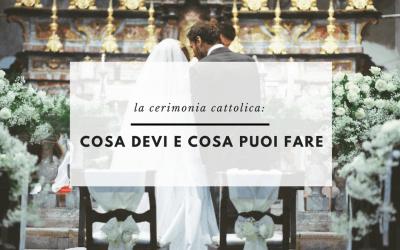 (Italiano) Cerimonia cattolica: cosa devi e cosa puoi fare